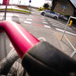 odpowiedzialność rowerzysty wypadek przejeździe rowerzystów