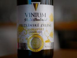 Vinium Velké Pavlovice Veltlínské zelené