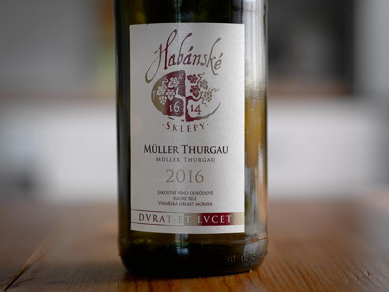 Habánské sklepy Müller Thurgau 2016