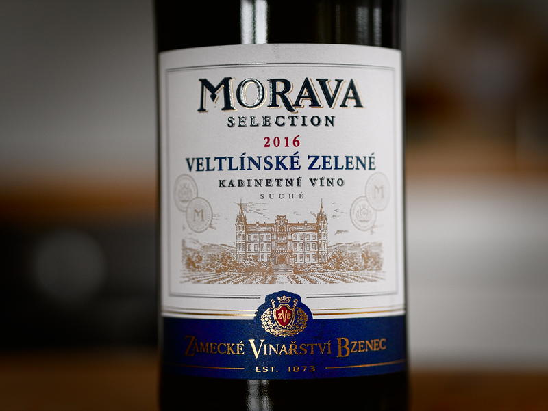 Zámecké Vinařství Bzenec Veltlínské zelené 2016 kabinetní víno