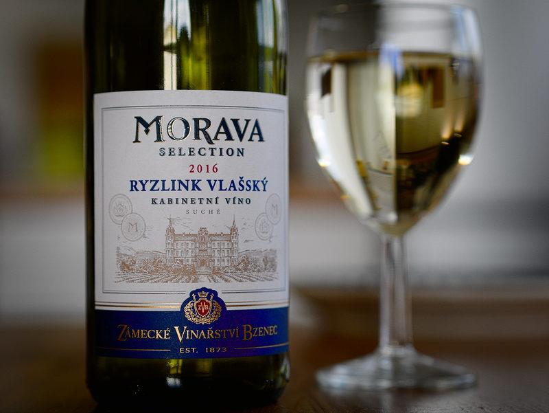Zámecké vinařství Bzenec Morava selection Ryzlink Vlašský 2016
