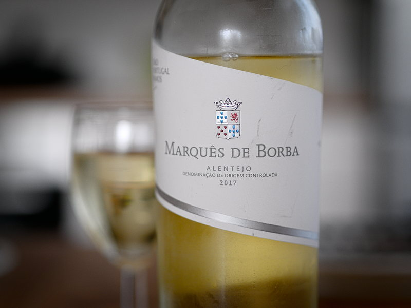 Marquês Borba Alentejo 2017 białe wino biedronka