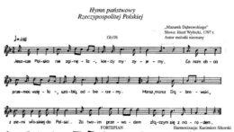 przerabianie tekstu hymnu