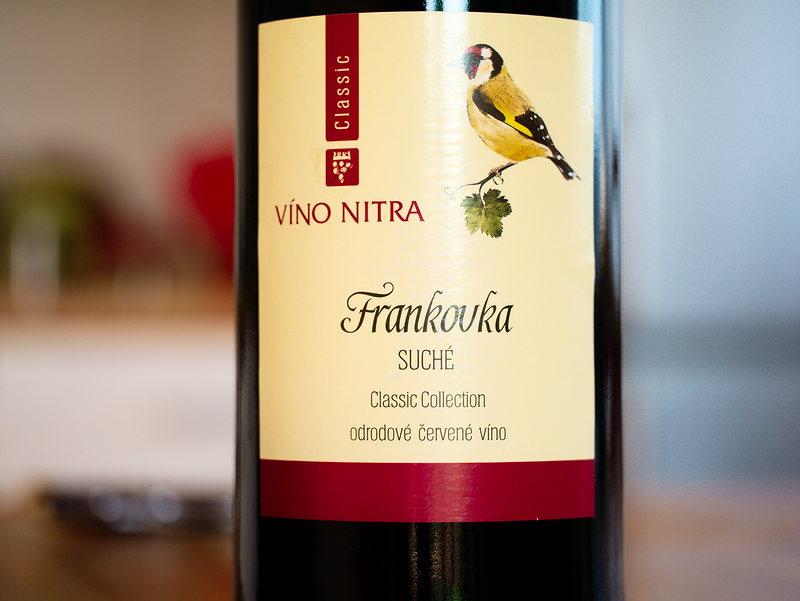 Víno Nitra Frankovka