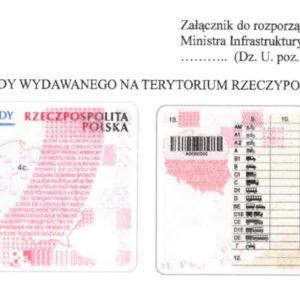 prawo jazdy bez adresu