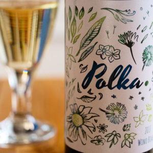 Białe wino Polka 2017
