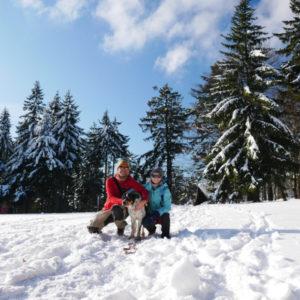 Góry Sowie zimą