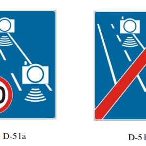 automatyczna kontrola średniej prędkości
