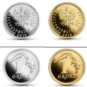 monety 100-lecie złotego