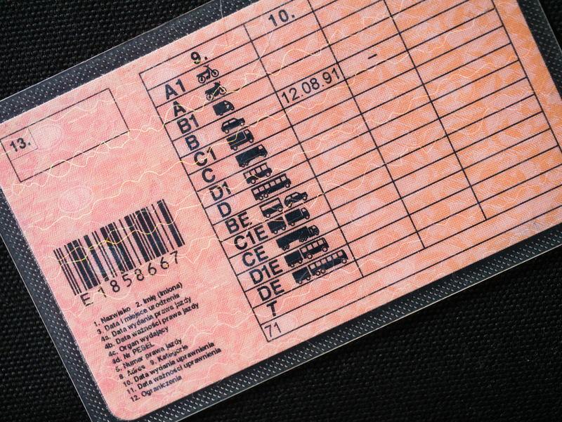 prawo jazdy kategorii półciężarówka