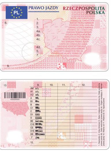 prawo jazdy bez adresu 2019