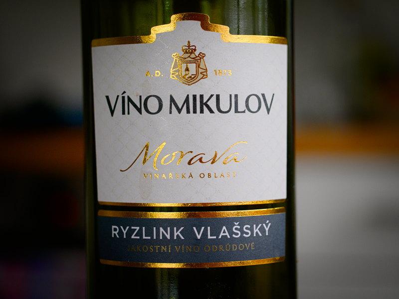 Víno Mikulov Morava Ryzlink Vlašský