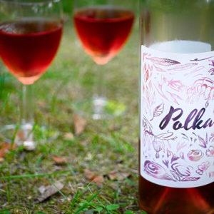 Polka 2018 wino różowe