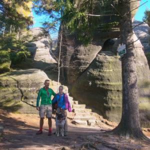 Broumowskie Ściany jesienią