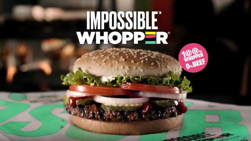 wegański Impossible Whopper