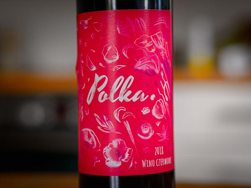 Czerwone wino Polka 2018
