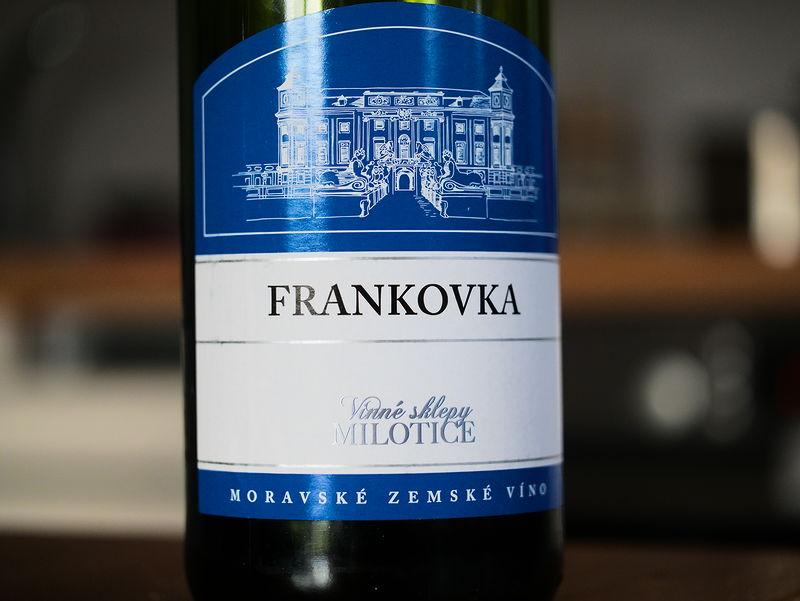 Vinné sklepy Milotice Frankovka