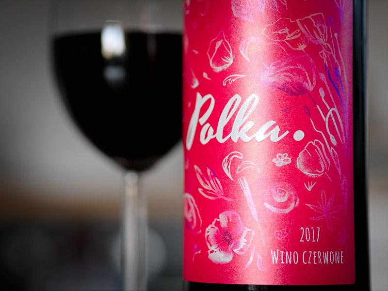 polka 2017 wino czerwone