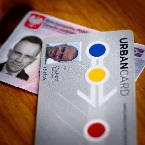 okazanie karty miejskiej tożsamość pasażera