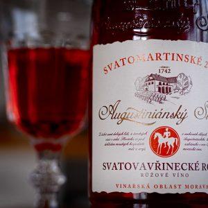 Augustiniánský Sklep Svatovavřinecké Rosé Svatomartinské 2018