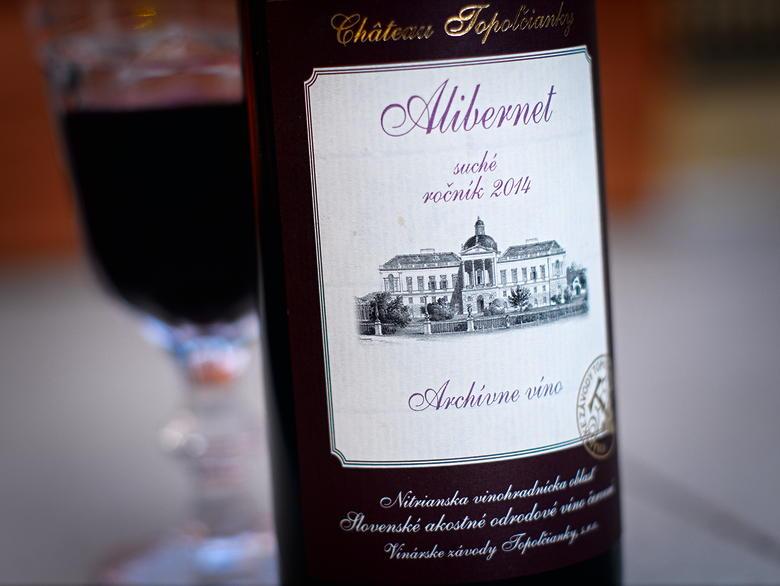 Château Topolcianky Alibernet 2014