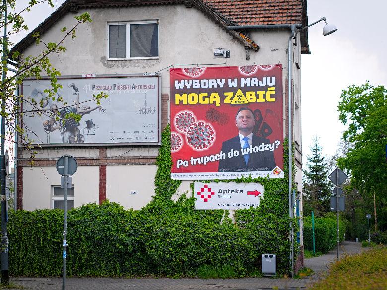 nieważność decyzji przeprowadzenia wyborów pocztę polską