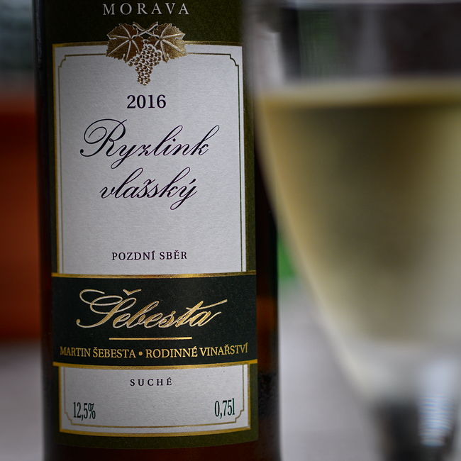 Vinařství Šebesta Ryzlink vlašský 2016
