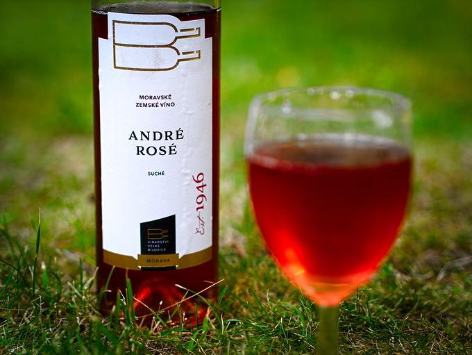 Velké Bílovice André rosé