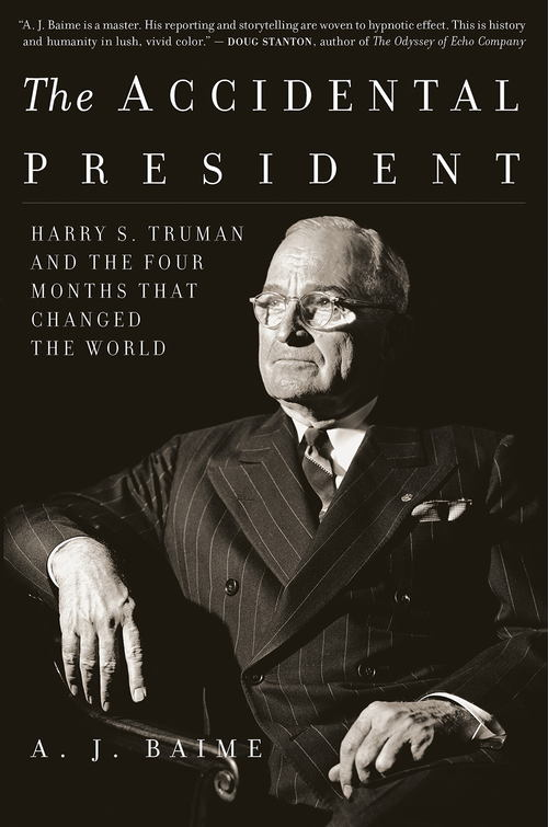 Baime Accidental President Truman recenzja