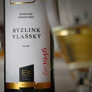 Vinařství Velké Bílovice Ryzlink vlašský