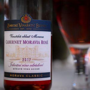 Zámecké vinařství Bzenec Cabernet Moravia rosé 2017