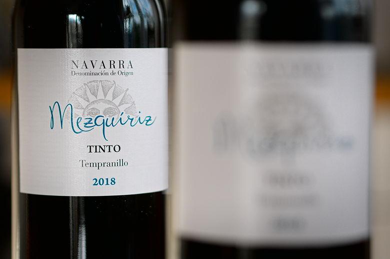 Mezquiriz Navarra Tempranillo Tinto 2018