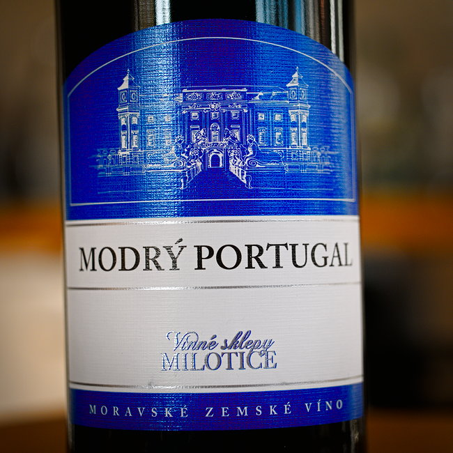 Vinné sklepy Milotice Modrý Portugal