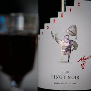 Vinařství Maděřič Pinot Noir 2018