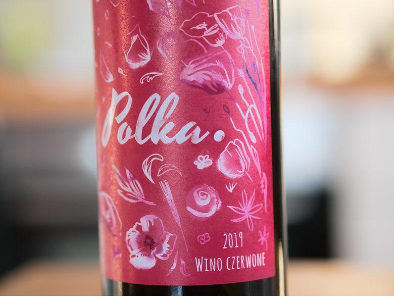 czerwone wino Polka 2019