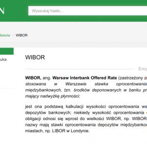 WIBOR WIBID znak towarowy