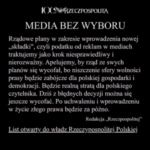 podatek reklam mediach