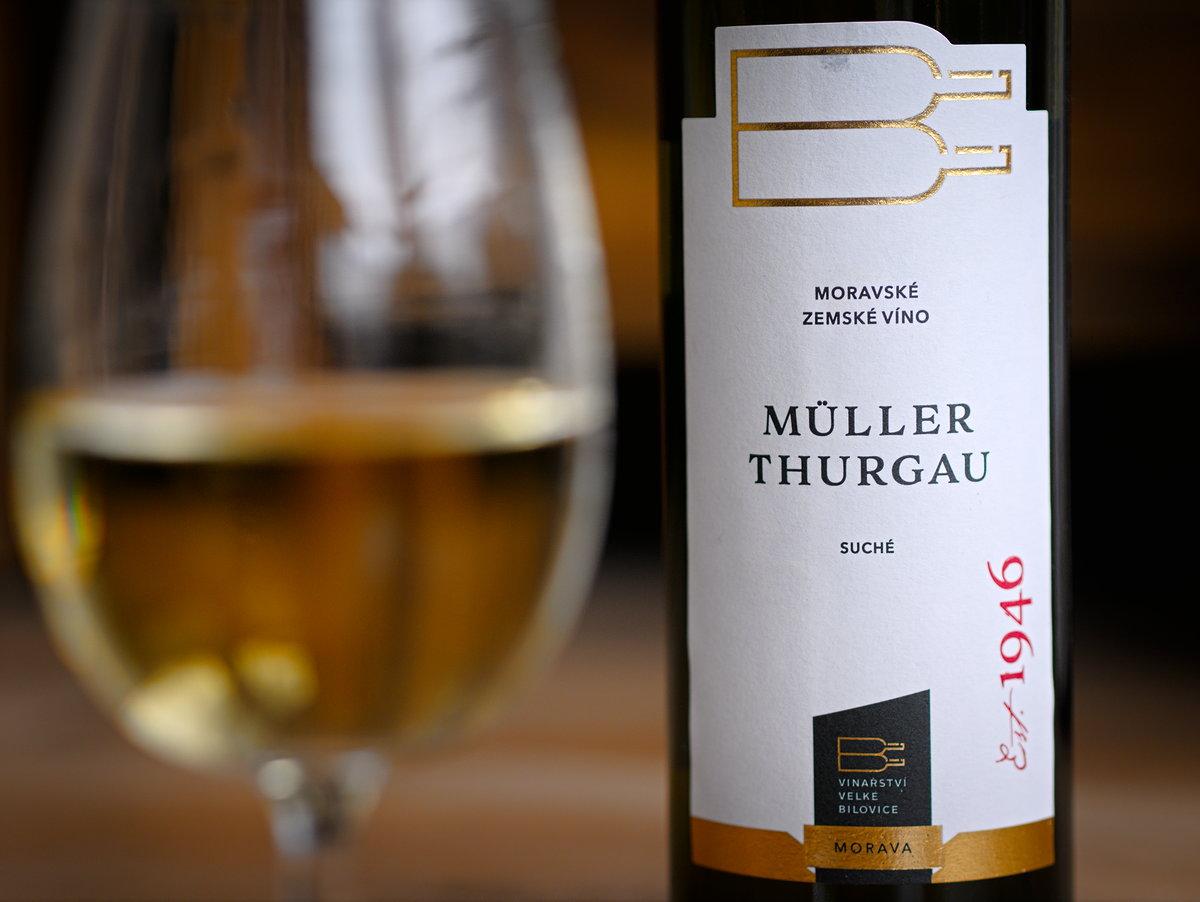 Vinařství Velké Bílovice Müller Thurgau