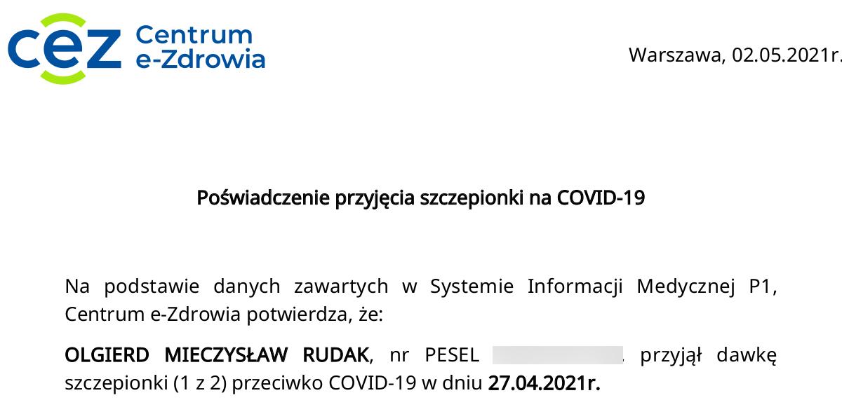 uchylenie uchwały Wałbrzycha szczepień COVID-19