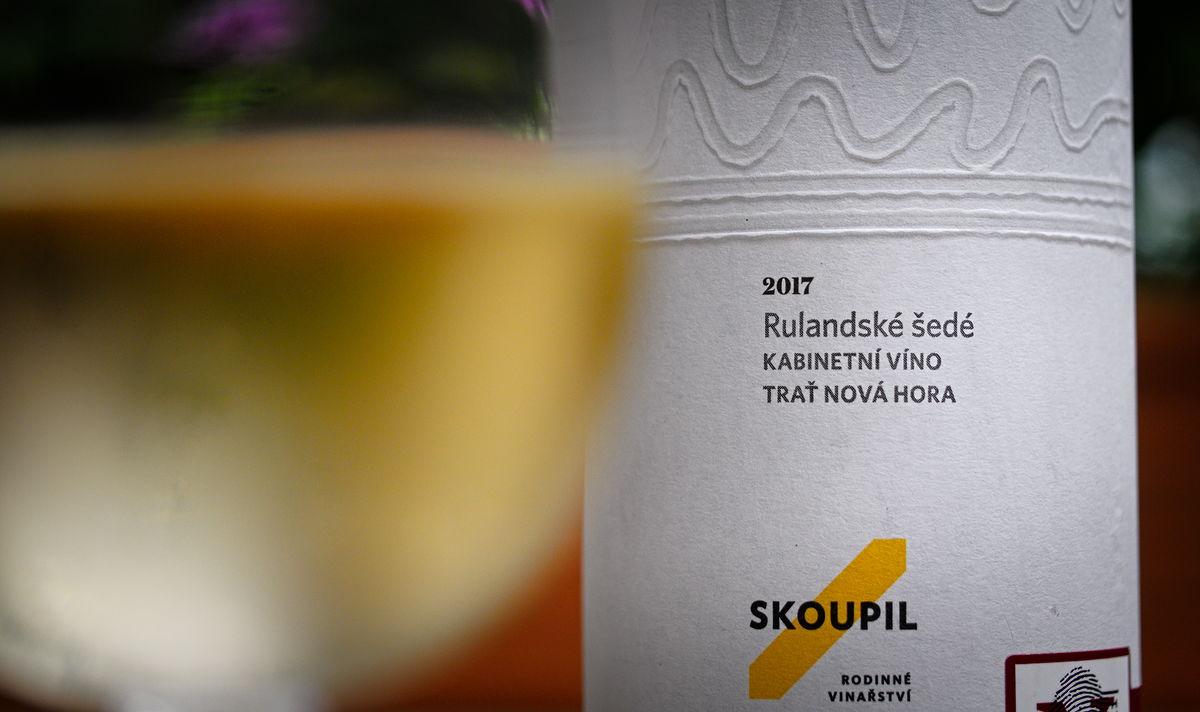 Vinařství Skoupil Rulandské šedé 2017