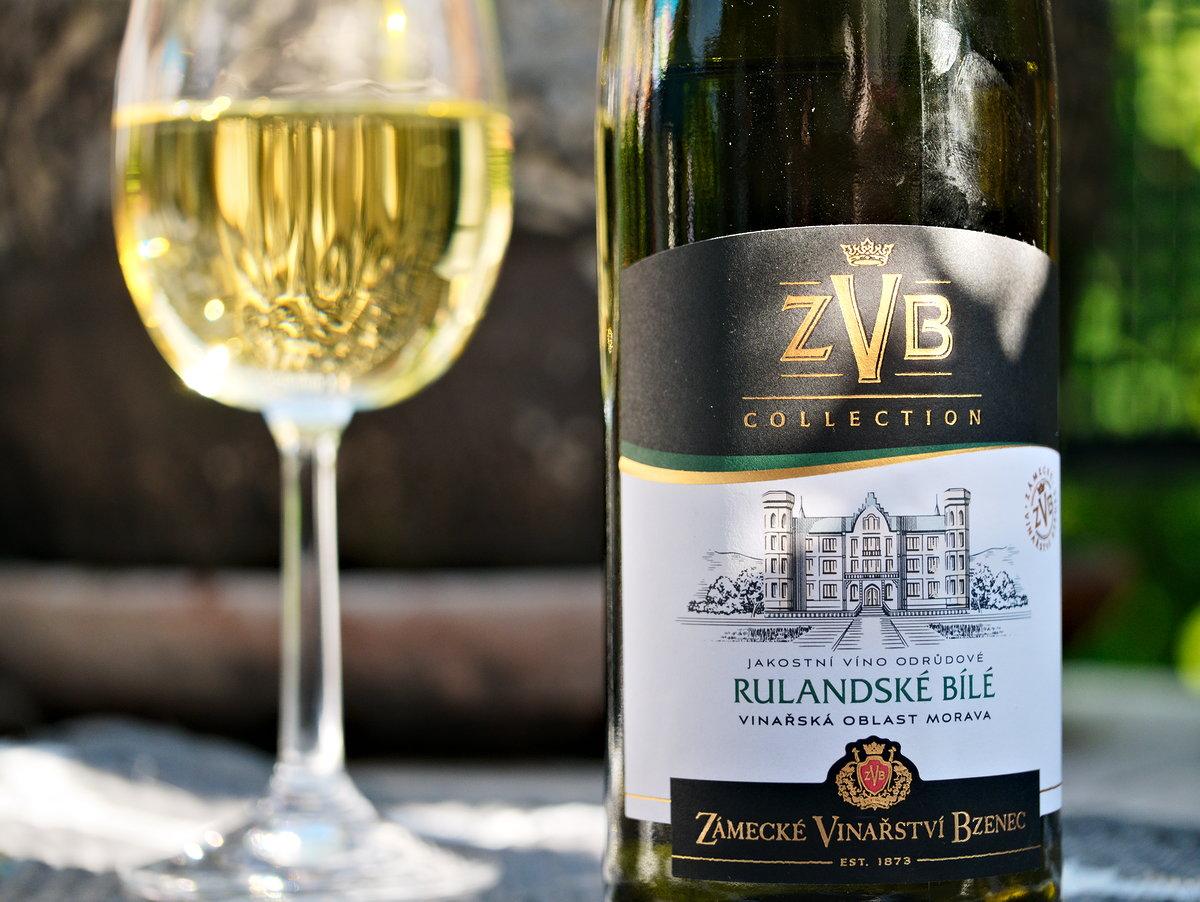 Zámecké vinařství Bzenec Rulandské bílé 2019