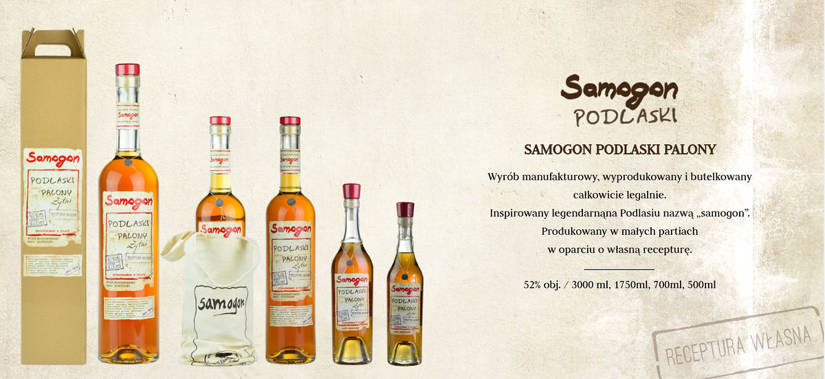 samogon nazwa napoju alkoholowego